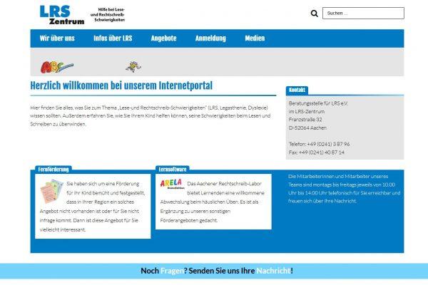Webdesign www.lrs-online.de